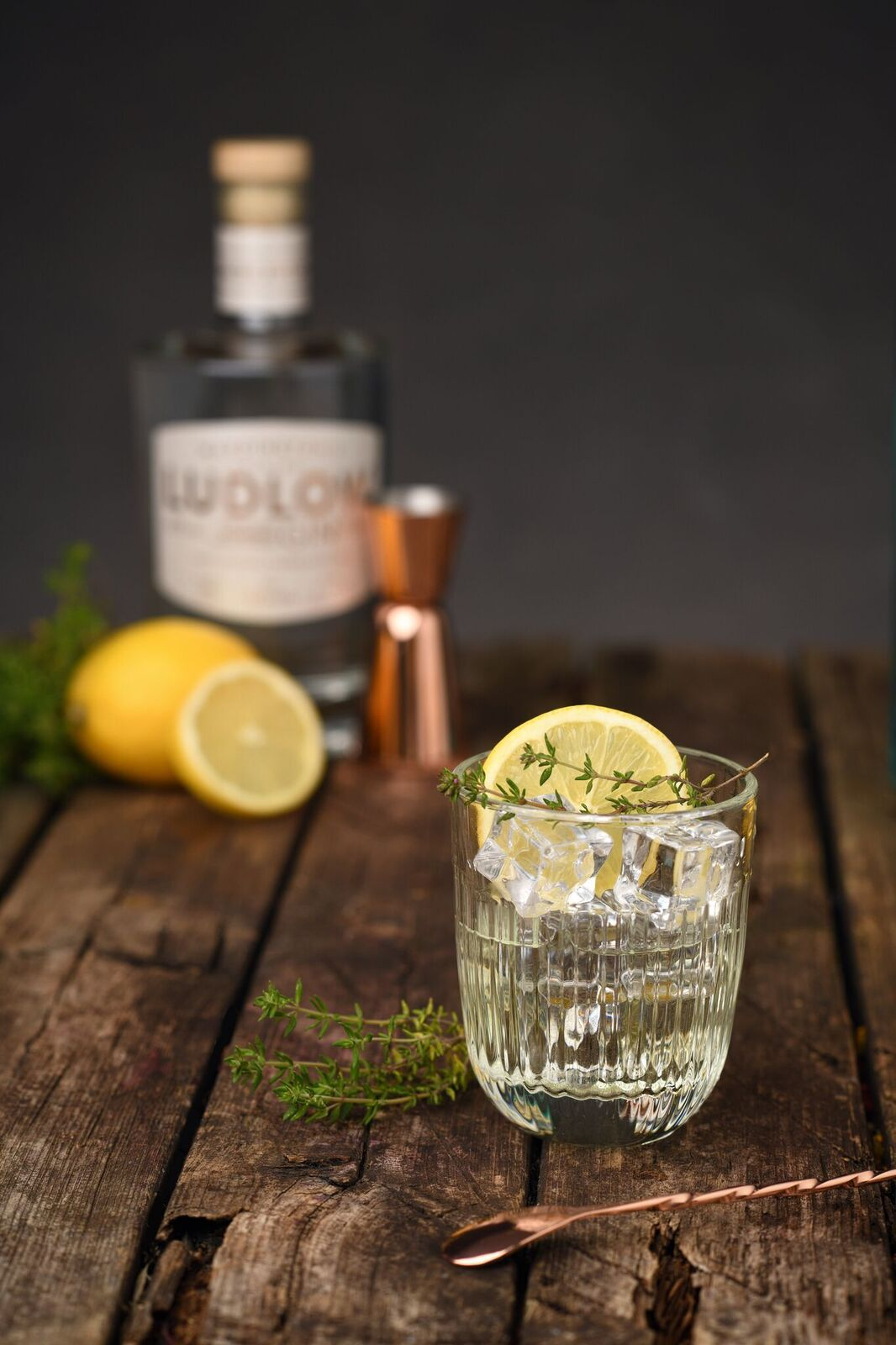 mix a perfect french75 cocktail with wardingtons ludlow gin