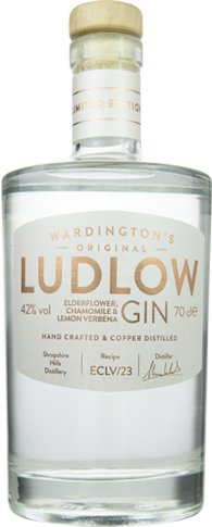Ludlow Elderflower Chamomile & Lemon Verbena Gin